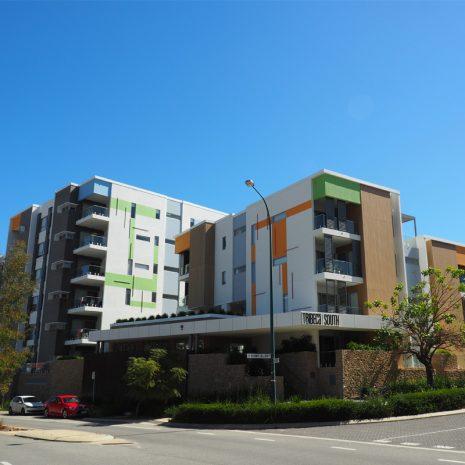 Multi storey apartment block
